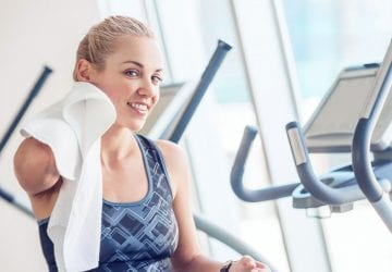 skincare at the gym